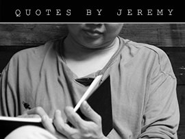 Jeremy Chin Quotes
