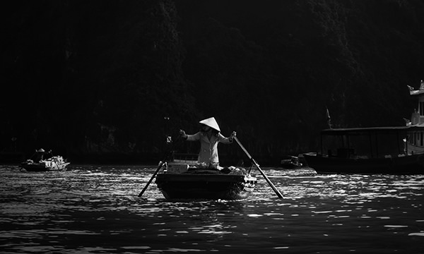 Genius Loci #45 by Jeremy Chin - Floating Market, Halong Bay, Vietnam