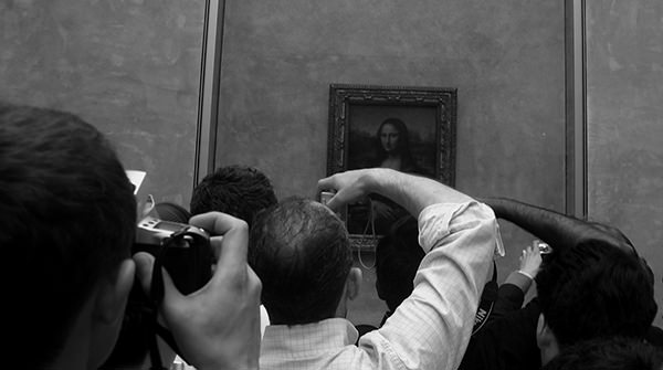 Genius Loci #60 by Jeremy Chin - Snapping Photos of the Mona Lisa