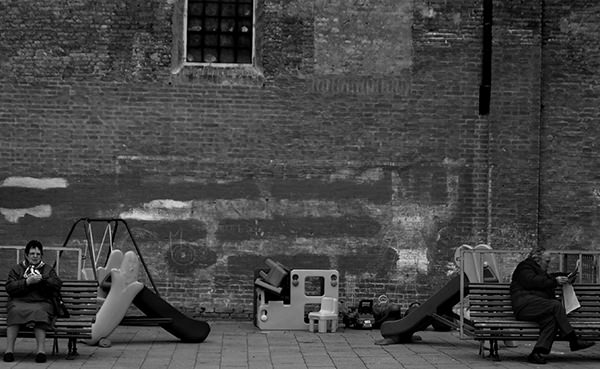 Quiet Times #8 by Jeremy Chin - Evening by the Walk of Love, Venice, Italy