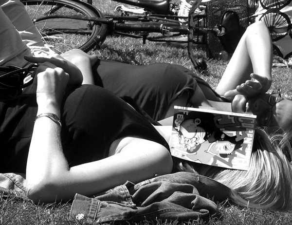 Quiet Times #28 by Jeremy Chin - Afternoon Nap, Copenhagen Jazz Festival, 2005