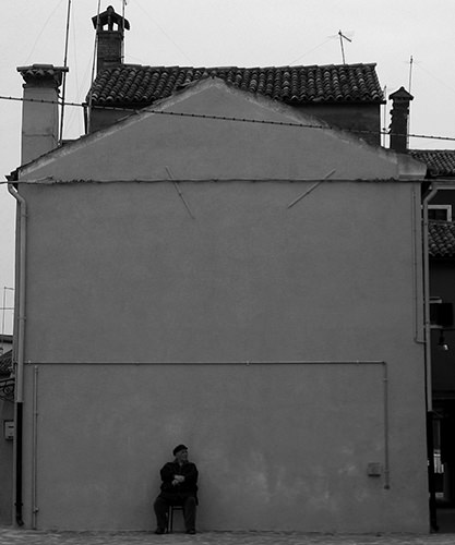 Quiet Times #34 by Jeremy Chin - Passing Time, Burano,  Venice, Italy