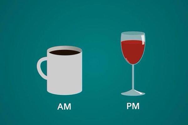 Coffee #16: Coffee: AM. Wine: PM