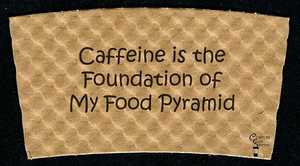Coffee #56: Caffeine is the foundation of my food pyramid.