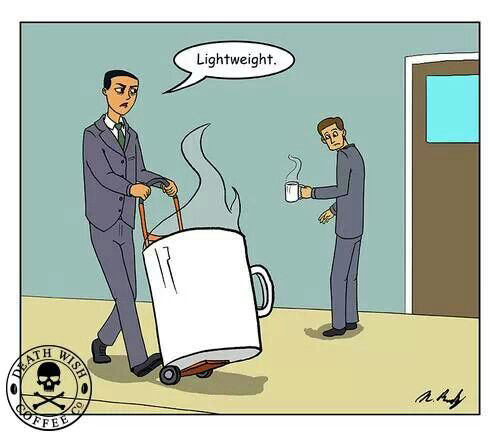 Coffee #94: Lightweight.
