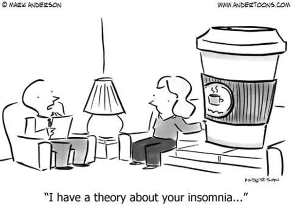 Coffee #102: I have a theory about your insomnia.