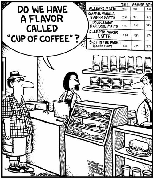 Coffee #107: Do we have a flavor called,