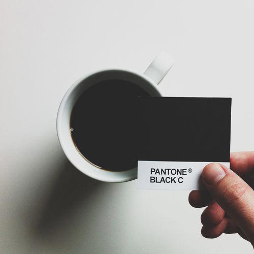 Coffee #196: Coffee Pantone Black C.