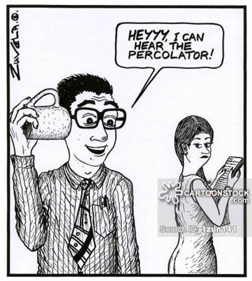 Coffee #198: Hey, I can hear the percolator.
