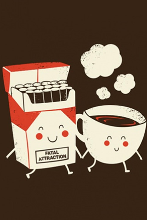 Coffee #206: Fatal Attraction. Coffee and cigarettes.