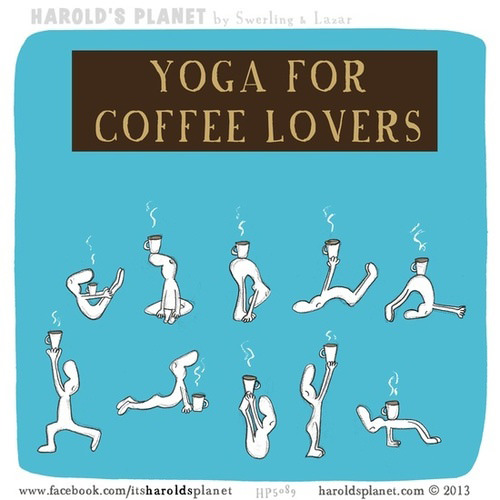 Coffee #215: Yoga for coffee lovers.
