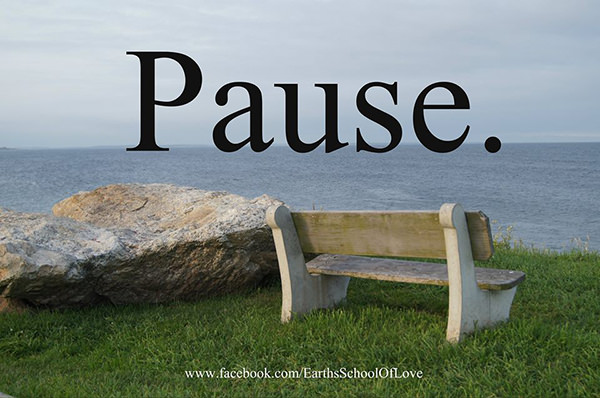 Favorite Things #5: Pause.