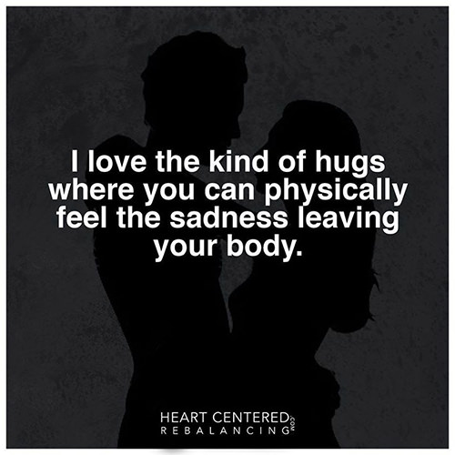 Favorite Things #32: I love the kind of hugs where you can physically feel the sadness leaving your body.