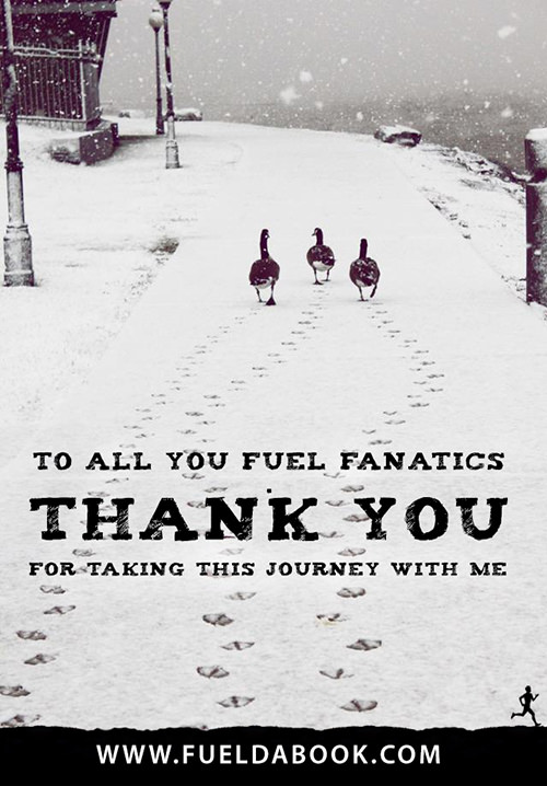 Fuel Posters #8: To all you Fuel Fanatics, thank you for taking this journey with me. - Jeremy Chin