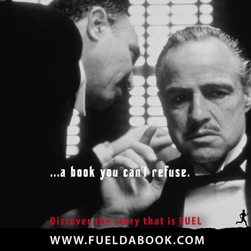 Fuel Posters #10: A book you can't refuse.
