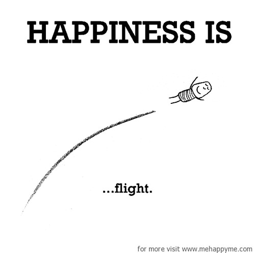 Happiness #311: Happiness is flight.