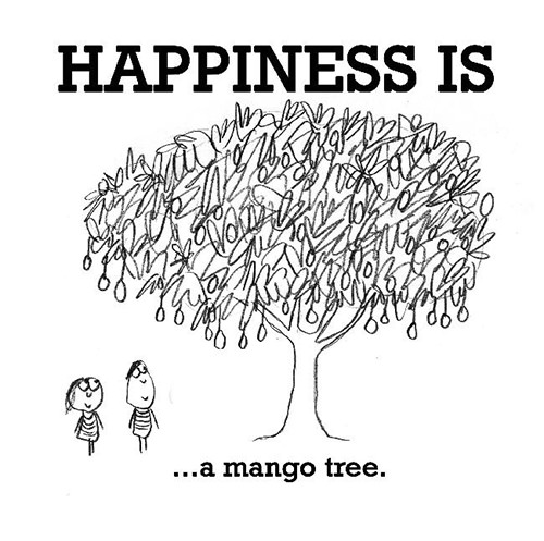 Happiness #336: Happiness is a mango tree.