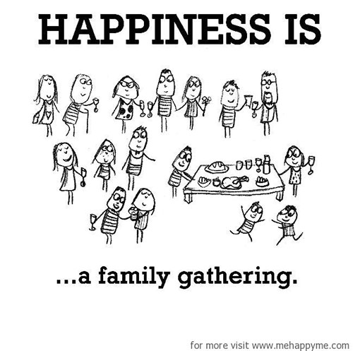 Happiness #531: Happiness is a family gathering.