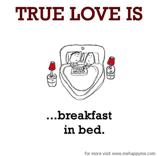 Happiness #587: Happiness is breakfast in bed.