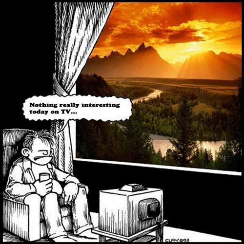 Hard Truths #9: Nothing really interesting today on TV.