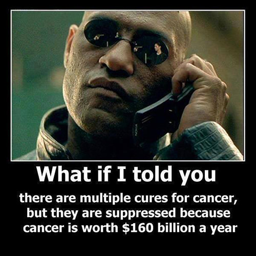 Hard Truths #21: What if I told you there are multiple cures for cancer, but they are suppressed because cancer is worth $160 billion a year.