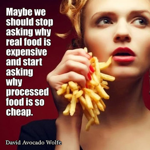 Hard Truths #71: Maybe we should stop asking why real food is expensive and start asking why processed food is so cheap.