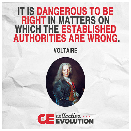 Hard Truths #77: It is dangerous to be right in matters on which the established authorities are wrong.