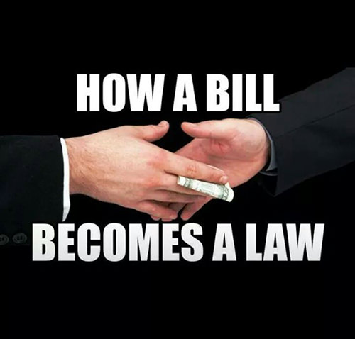 Hard Truths #108: How a bill becomes a law.