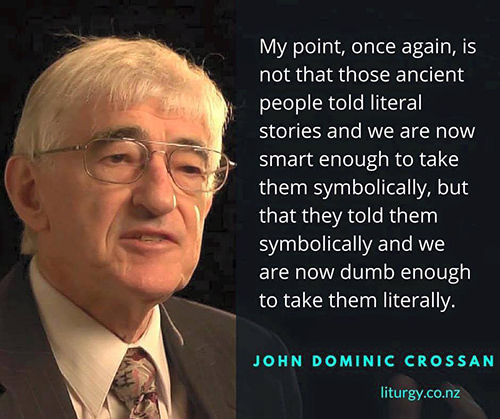 Hard Truths #124: My point, once again, is not that those ancient people told literal stories and we are now smart enough to take them symbolically, but that they told them symbolically and we are now dumb enough to take them literally.