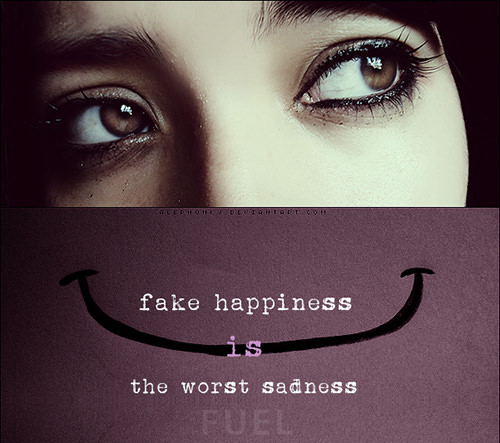 Hard Truths #150: Fake happiness is the worst sadness.