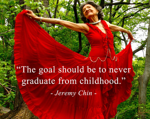 Jeremy Chin #107: The goal should be to never graduate from childhood. - Jeremy Chin