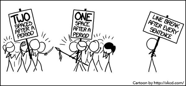 Literary #12: English Formatting Humor