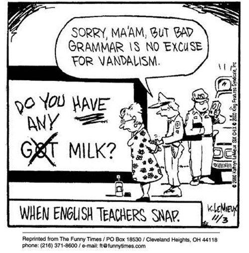 Literary #13: English Teacher Humor