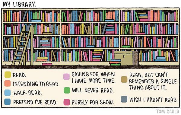 Literary #30: My Library.