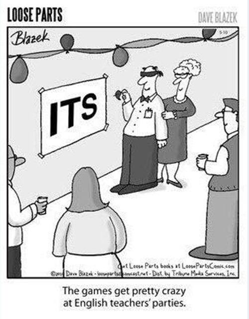 Literary #80: English Teacher Parties