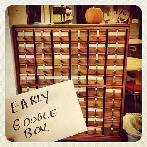 Literary #172: Early Google Box.