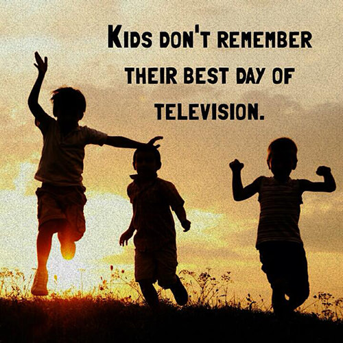 Parenting #24: Kid's don't remember their best day of television.