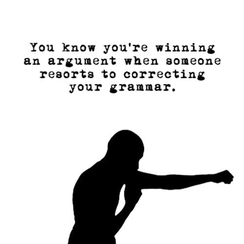 Relatable Humor #2: Grammar Humor