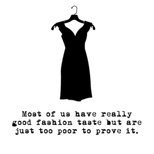 Relatable Humor #3: Fashion Humor