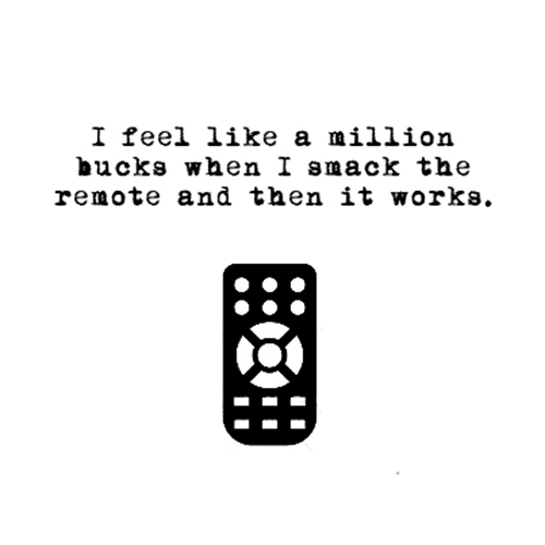 Relatable Humor #103: Remote Control Humor