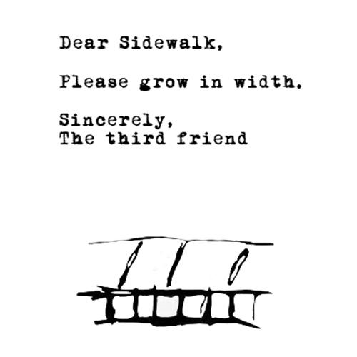 Relatable Humor #220: Sidewalk Humor