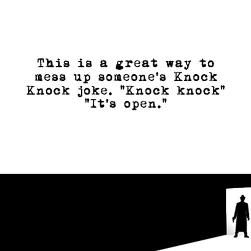 Relatable Humor #244: Knock Knock Humor