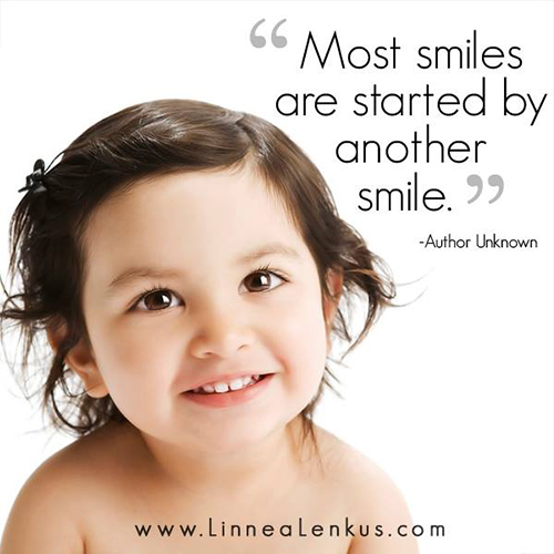 Spread Love #23: Most smiles are started by another smile.