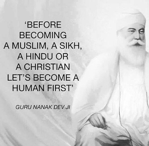 Spread Love #31: Before becoming a Muslim, a Sikh, a Hindu or a Christian, let's become a human first.