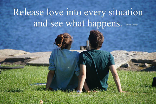 Spread Love #36: Release love into every situation and see what happens.