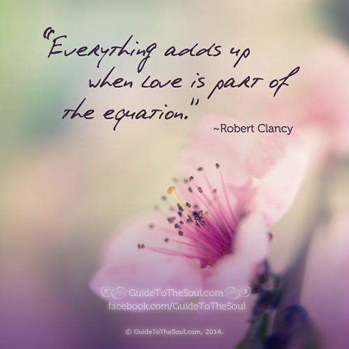 Spread Love #39: Everything adds up when love is part of the equation.