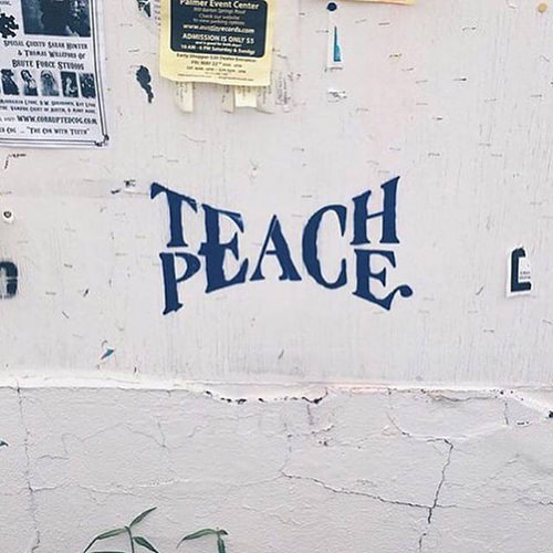 Spread Love #84: Teach Peace