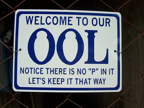 Tickled #73: Swimming Pool Humor