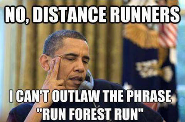 Tickled #78: Funny Run Forest Run Obama Photo