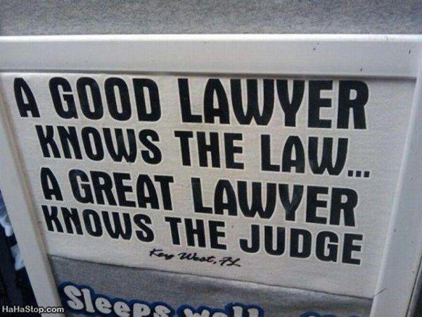Tickled #82: Funny Lawyer Sign